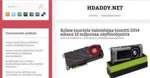 Hdaddy.net nettisivusto