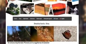 Photokuvat Kuvankaappaus Nettisivuista