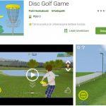 Disk Golf Game